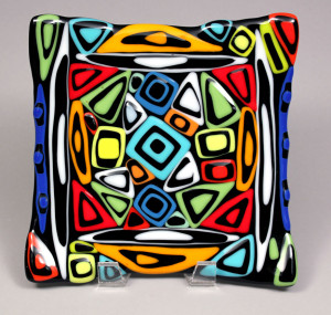 """8"""" x 8"""" Stacked Mosaic Plate SOLD"""