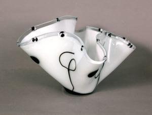 1930's Drapped Flower Vase